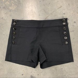 Ann Taylor LOFT Riviera Shorts Buttons On Sides 2